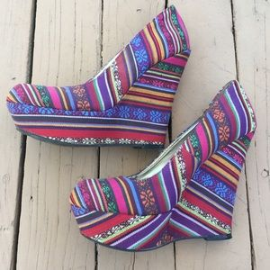Mossimo Colorful Wedges